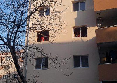 Montaj tamplarie PVC la apartamente
