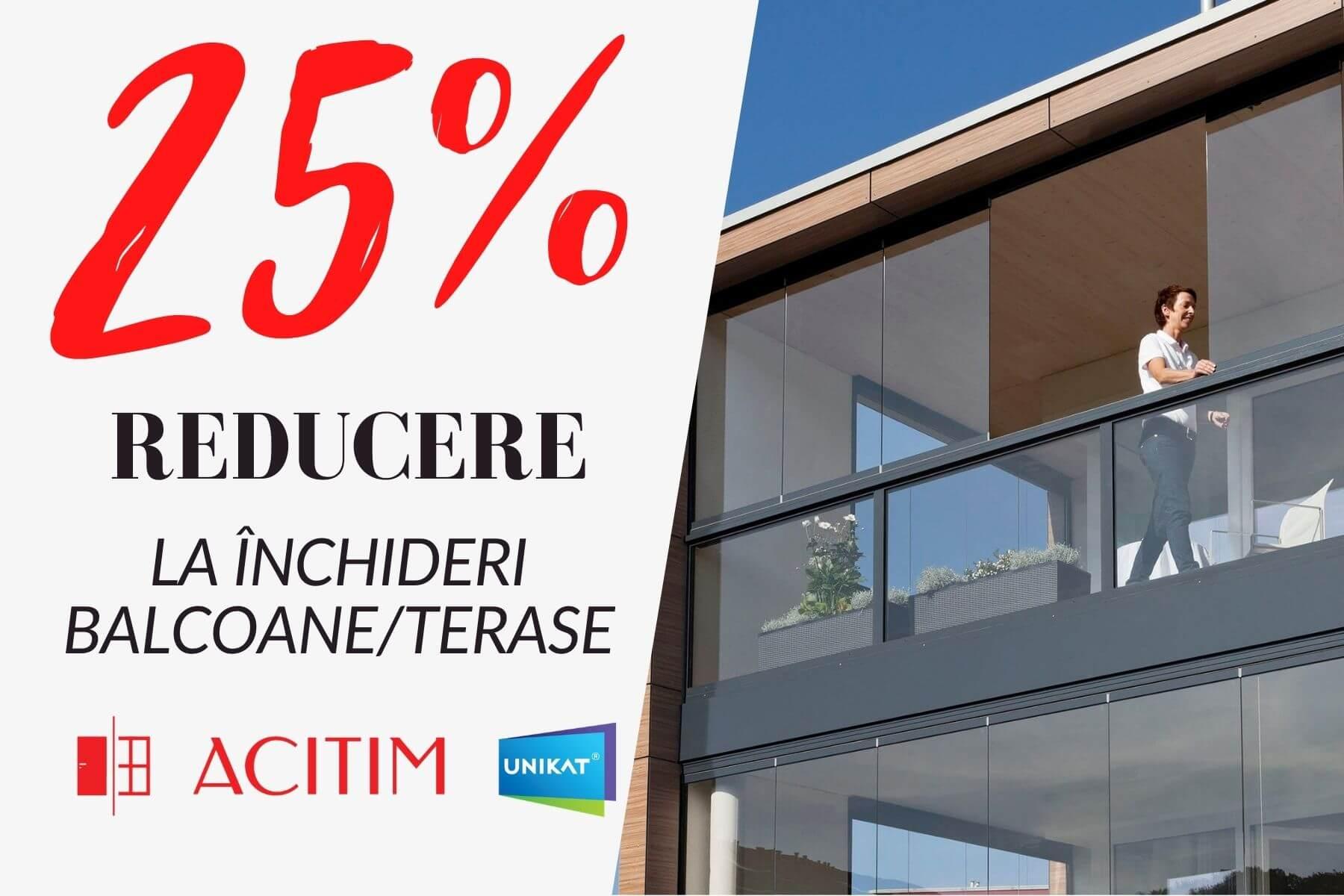 Promotie Balcoane 25%